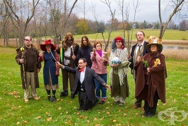 Ето как професорите на моя факултет са се облекли за Хелоуин.