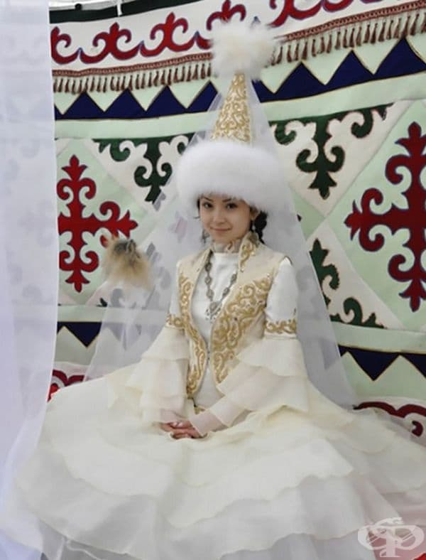 Казахстанска булка