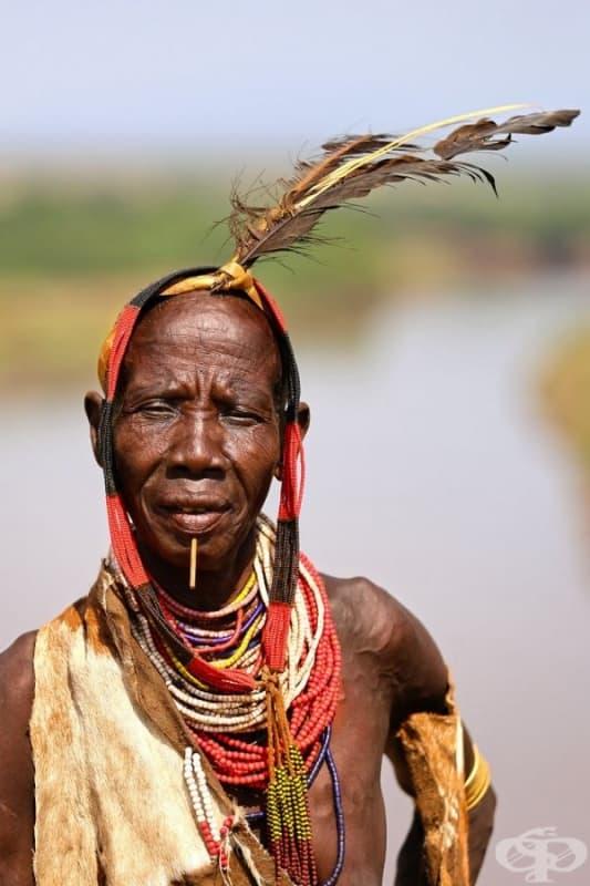 Жена от племето Каро.