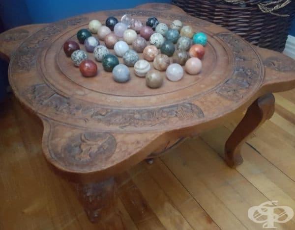 Интересна маса. Някой знае ли как се използва?