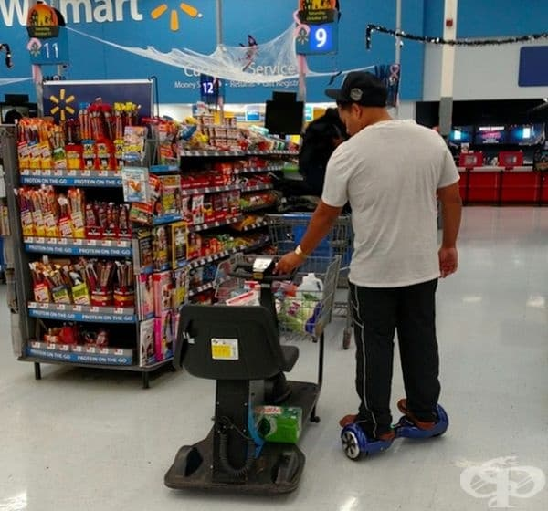 Интересен подход на пазаруване.