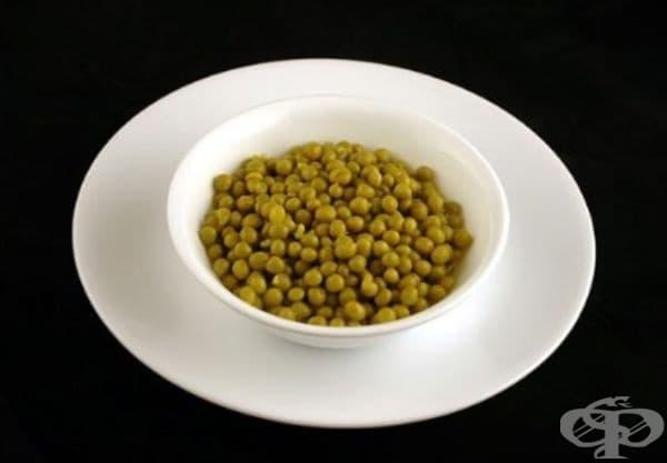 Консервиран зелен грах (356 гр)