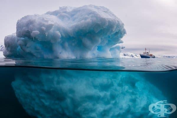 А ето какво се крие под айсберга.