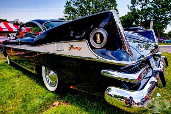 1959 Plymouth Sport Fury.