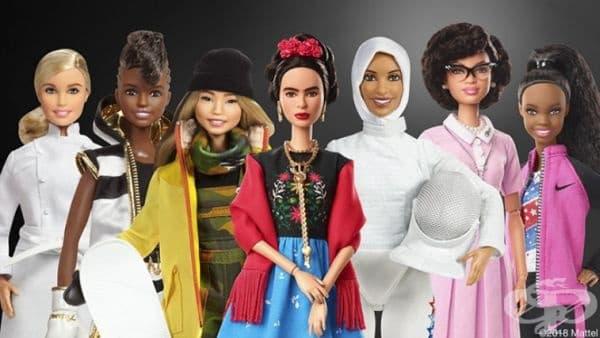 Реални личности вдъхновиха компанията Барби да създаде 17 нови кукли