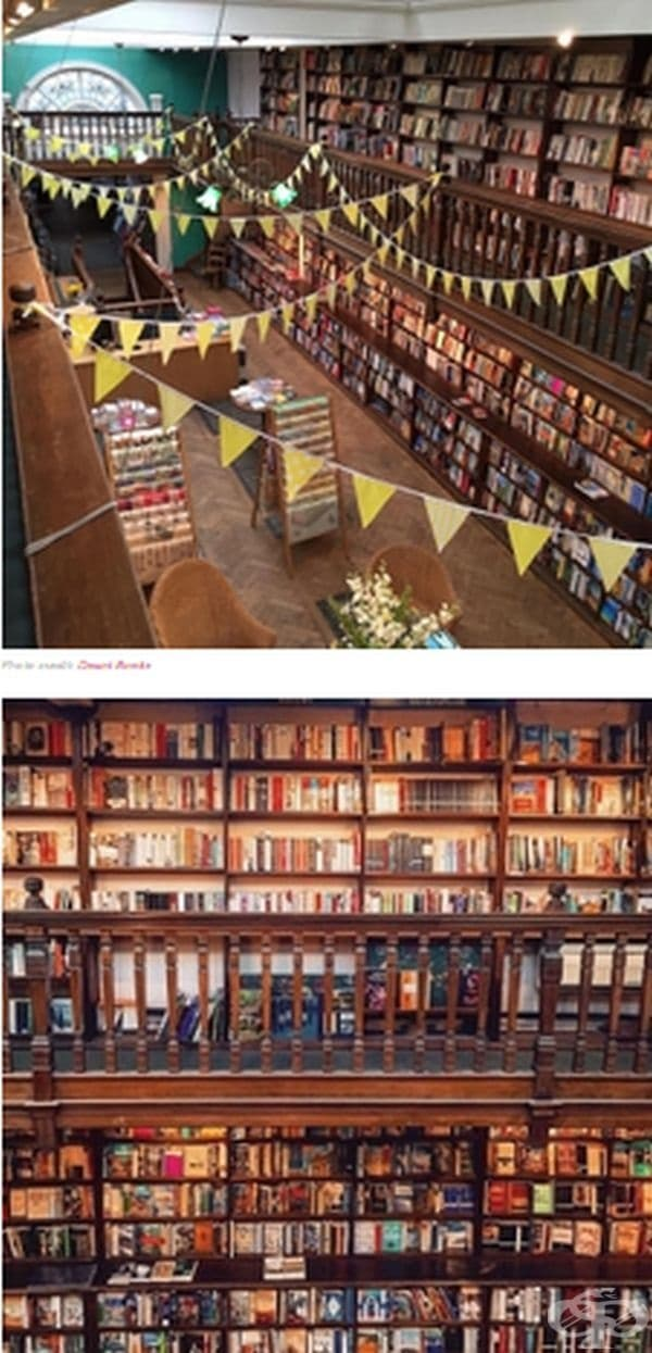 Daunt Books on Marylebone High Street  в Лондон, Великобритания