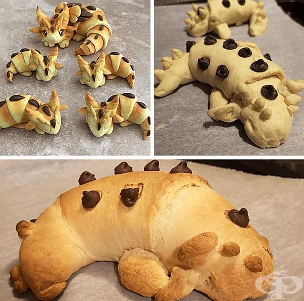 """""""Преди два дни видях тези симпатични закуски на драконите Reddit и реших, че мога да ги направя, но се провалих."""""""