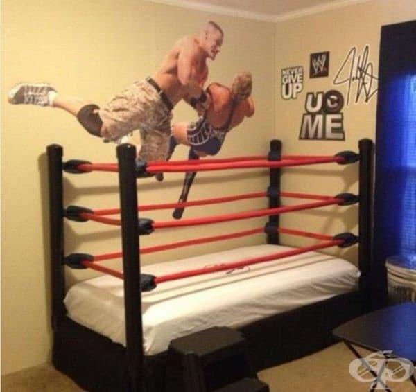 Това борбено легло дава нов смисъл на прочутата спалня.