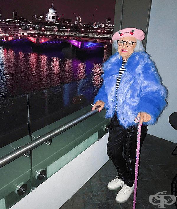 30 снимки на най-готината баба в интеренет - Бади Уинкъл
