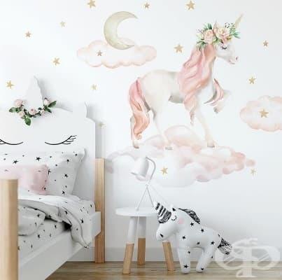 Направете своята стая магическа със стенни стенописи.