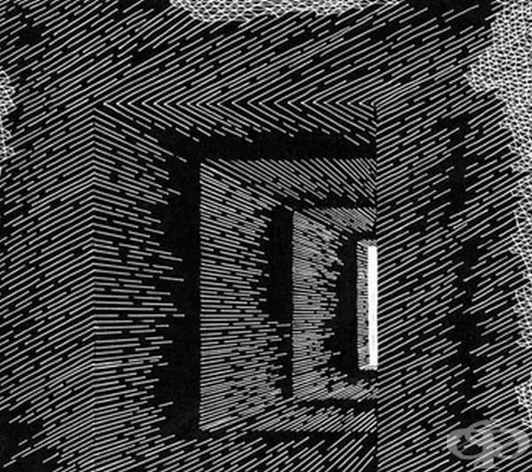 Невероятни оптични илюзии с помощта на обикновени линии