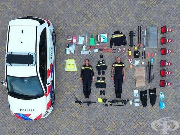 Полицейски патрул от Холандия