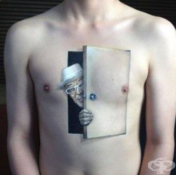 Уникални 3D татуировки, които надминават всички очаквания