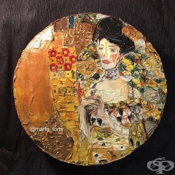"Густав Климт, ""Портрет на Адел Блок-Бауер І"""