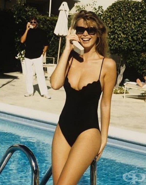 Клаудия Шифър - Vogue, април 1989 г.