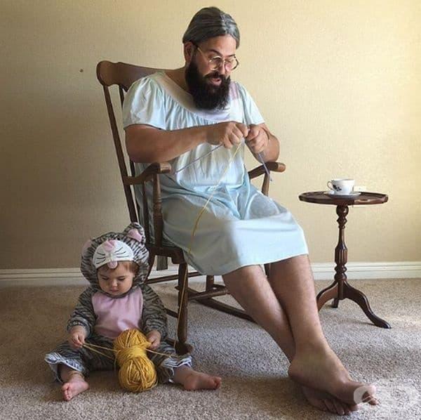 Баща превръща фотоалбума на своята дъщеря в шедьовър