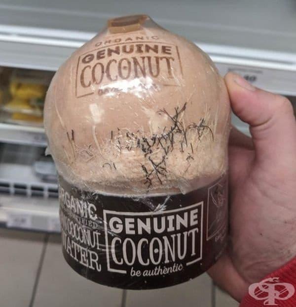 """Такива крехки продукти със сигурност трябва да са защитени. Надписът """"organic"""" е задължителен на опаковката."""