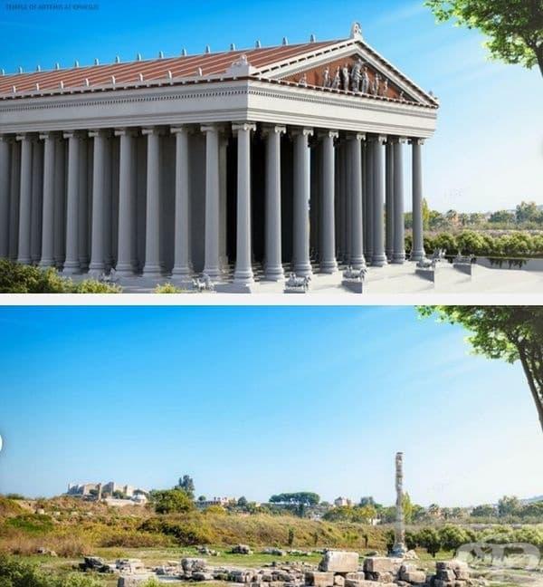 Храмът на Артемида Ефес