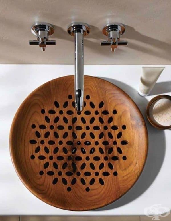 25 дизайнерски мивки от дърво, които едва ли сте виждали