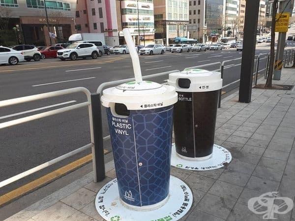 С такива творчески кутии за боклук, чистите улици са гарантирани!