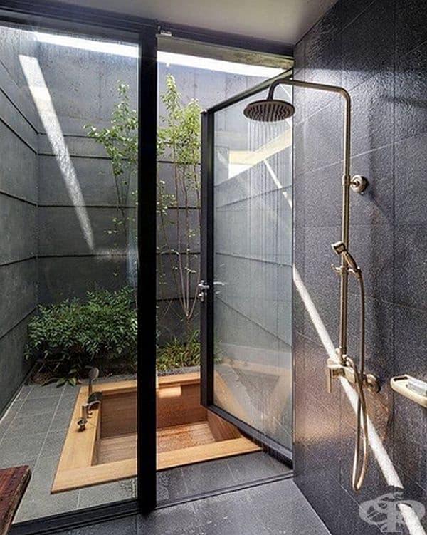 Тук също имате право на избор: душ или вана?