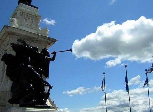 Ето как се появяват облаците.
