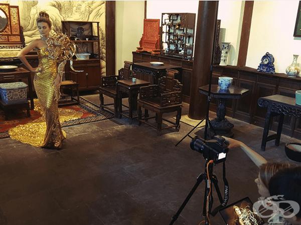 Невероятни модни портрети, съчетаващи фантазия с реалност