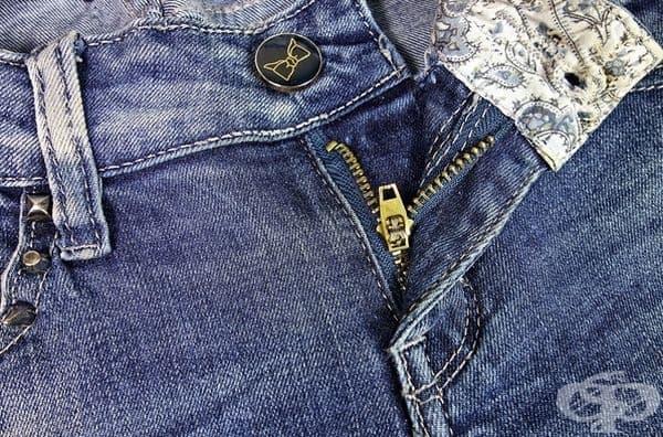 Трудно използване на цип. Ципът обикновено е поставен отляво и това затруднява използването на дрехите с цип.