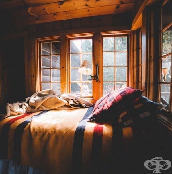 Идеалното място за прекарване на уютна неделна сутрин.