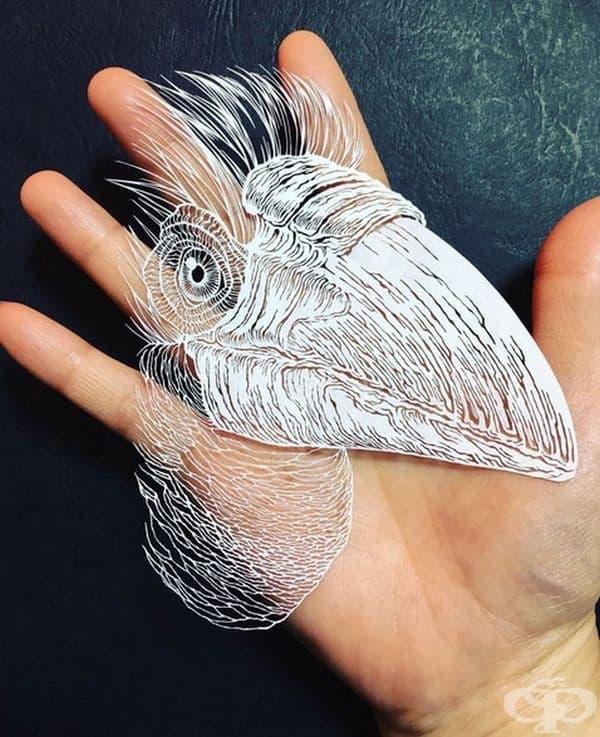 Японски художник създава октопод от лист хартия