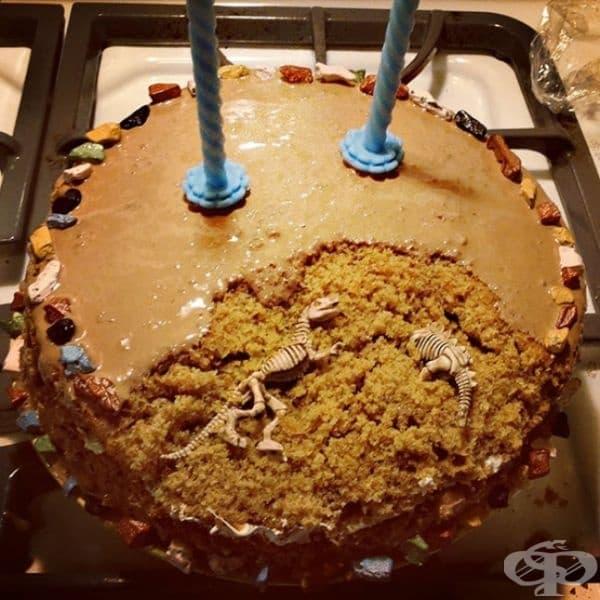 Перфектната торта за архиолози.