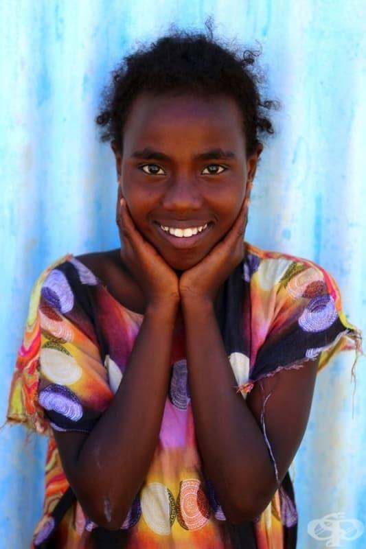 Момиче от Джибути.