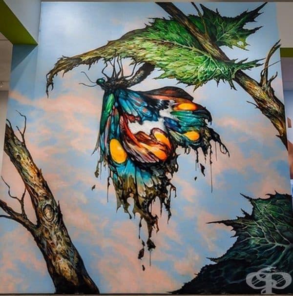 18 художника ни показват магията на уличното изкуство