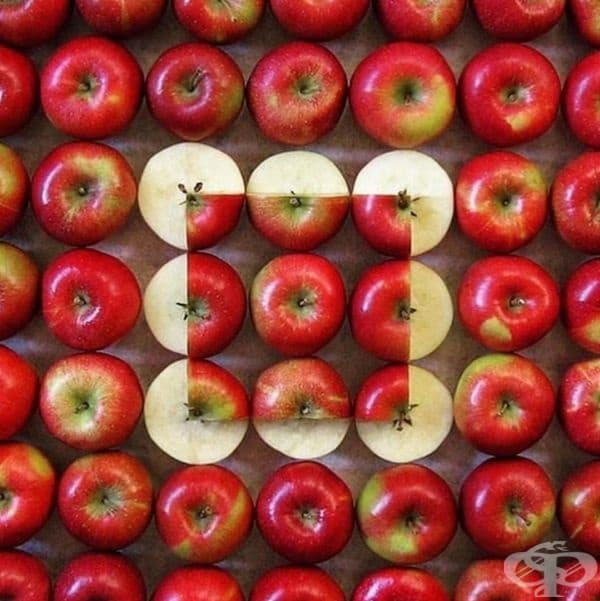Перфектно изрязани ябълки. И всичко без Photoshop!
