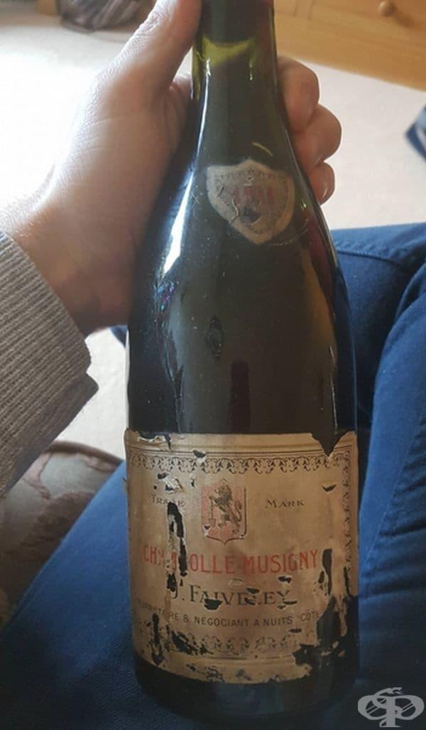 Вино от 1911 г. Дали е годно за пиене?