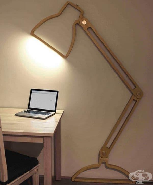 2D лампа.