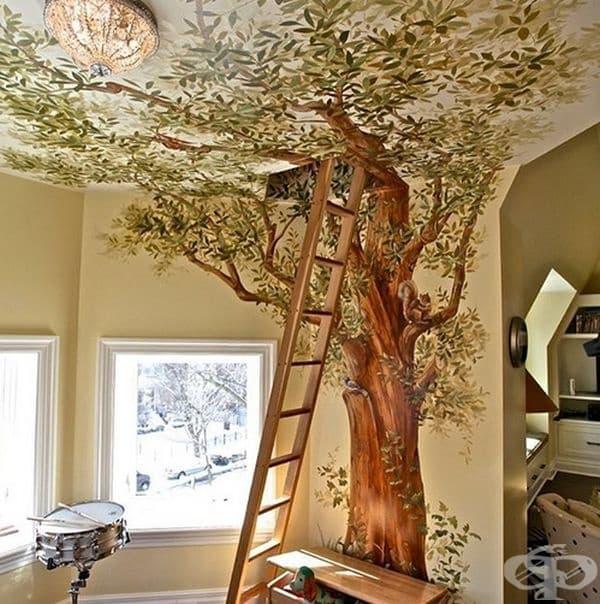 С въображение и творчество направете стая за игри на вашите деца.