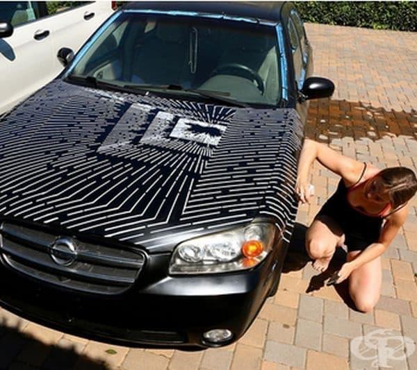Кати Ан украси и първата си кола.