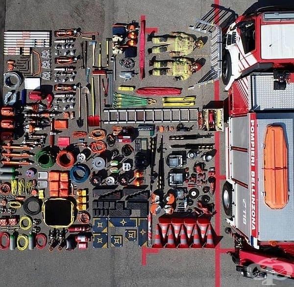 Противопожарно оборудване от Каприаска