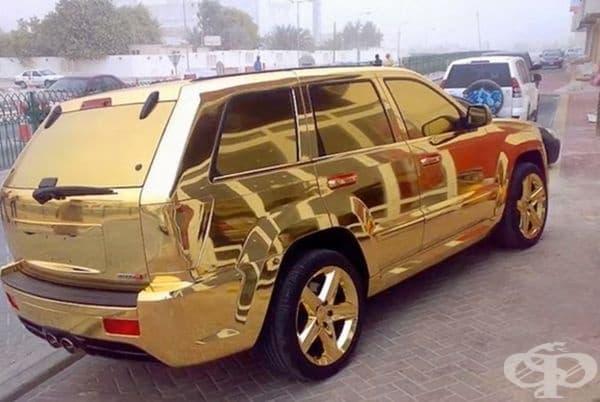 Автомобил, който може да видите единствено в Дубай.