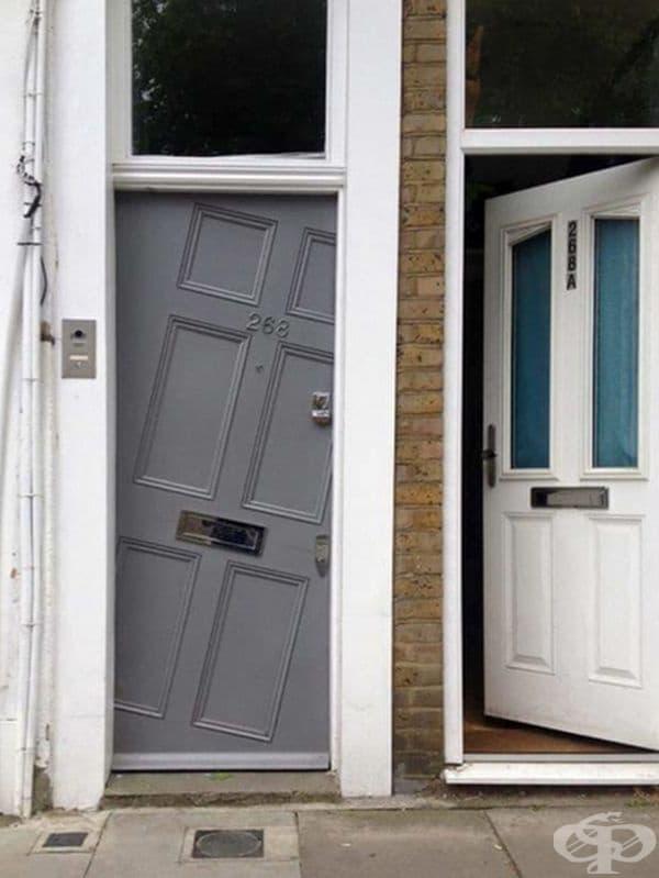 Колко грешки намирате в монтирането на тези врати?