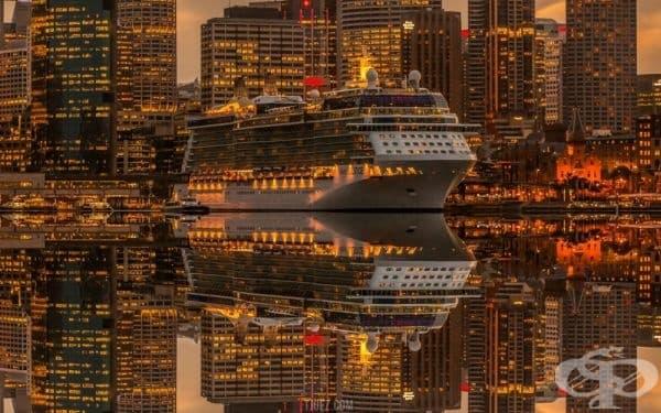 Огледална лодка (фотограф: Matthew Vandeputte).