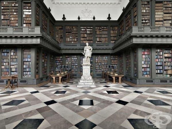"""Библиотека """"Кодрингтън"""", Оксфорд, Великобритания."""