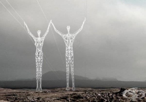 """Земя на гигантите"" - проект за електропроводи."