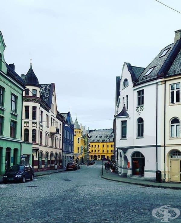 Apoteker Gata, Олесунд, Норвегия.
