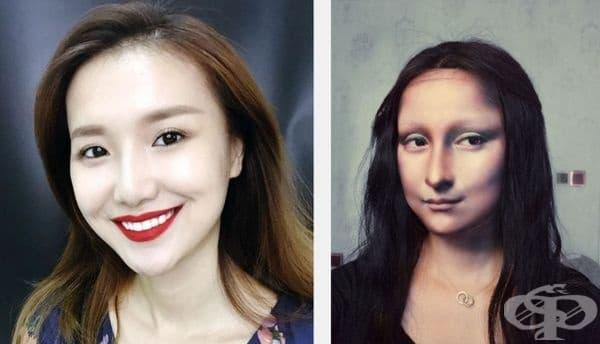 Гримьорка от Китай може да се трансформира в различни знаменитости. Вижте кои