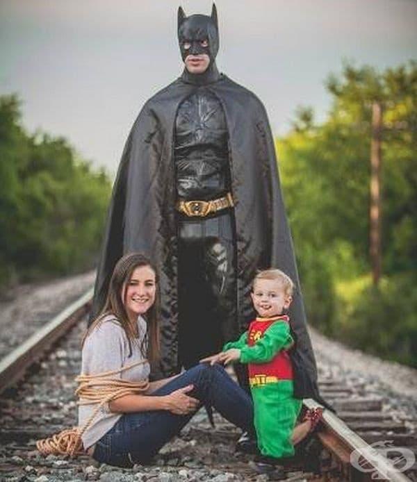Семейна снимка от ново поколение.