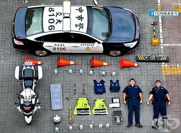 Полиция TCPB, Тайван
