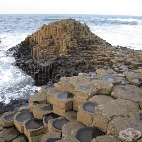 """""""Пътят на великаните"""" - природното чудо на Ирландия."""