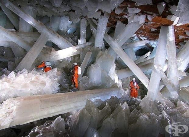Кристална пещера, Мексико.
